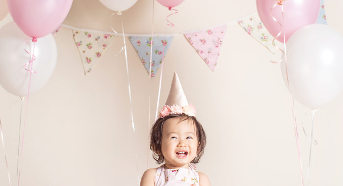 Keilena Wang one year old session.